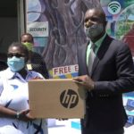 Barbadian Community in Cayman Islands donate learning devices